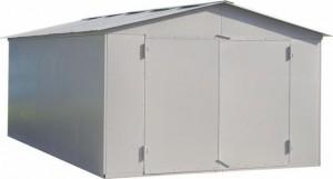 Как построить металлический гараж